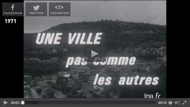 Vidéo INA Saint-Claude